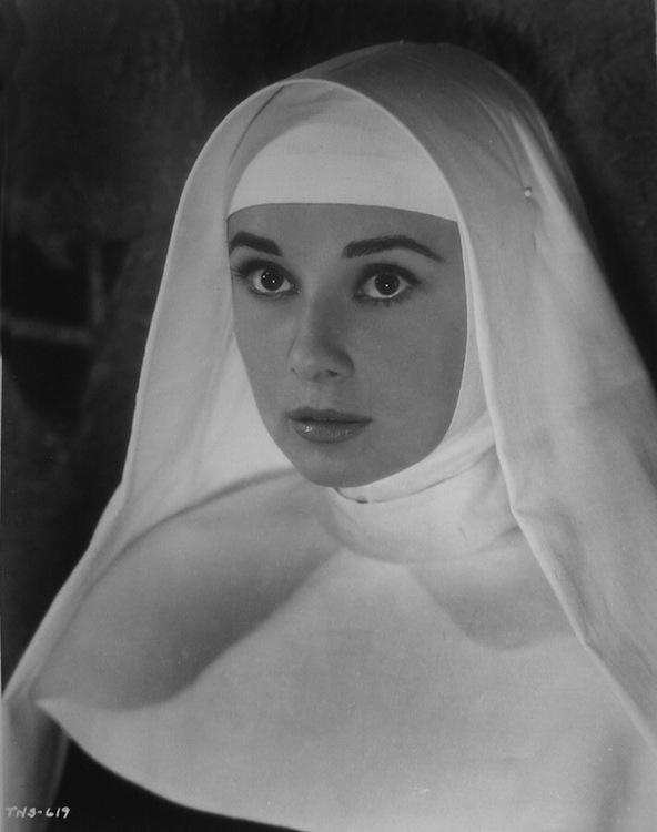 Audrey Hepburn monja