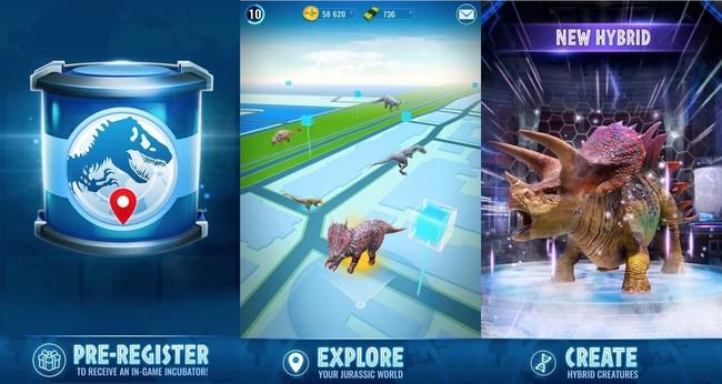 Jurassic World Alive: así es el juego de realidad aumentada que busca imitar el éxito de Pokémon GO