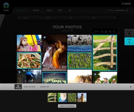 Canon lanza Irista: alojamiento en la nube y gestión centralizada de imágenes