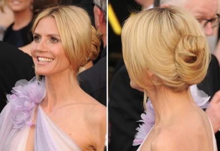 Heidi Klum Oscar Recogido