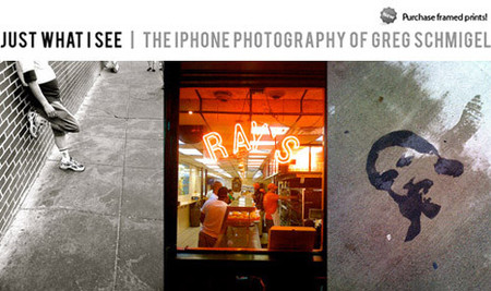 Greg Schmigel + iPhone = Arte