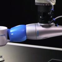 Un brazo robótico que se inspira en la lengua del camaleón para coger todo tipo de objetos