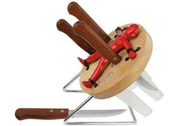 Base lanzador de cuchillos