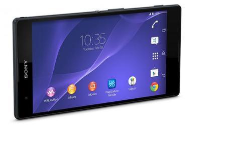 Sony Xperia T2 Ultra Negro