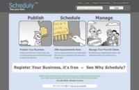 Scheduly estableciendo citas entre clientes y proveedores de servicios