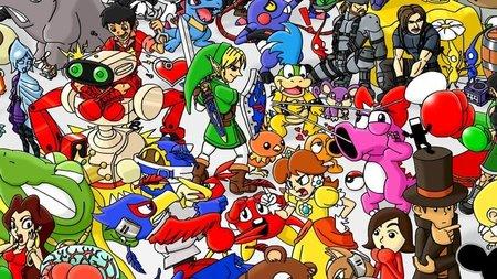 """Imagen de la semana: """"Nintendo Anthology"""", el homenaje definitivo a la gran N. 6601x2462 píxels de pura nostalgia jugona"""