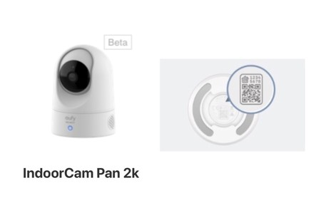 Camara Eufy Homekit Beta