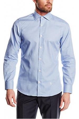 Hombre Camisas El Ganso 1050w150031 Camisa Slimfit Cuello Italiano Para Hombre