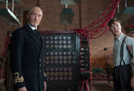 Charles Dance y Benedict Cumberbatch en The Imitation Game