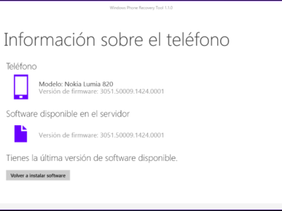 ¿Tienes problemas con la preview de Windows 10 para móviles? Restaura tu equipo con Windows Phone Recovery Tool