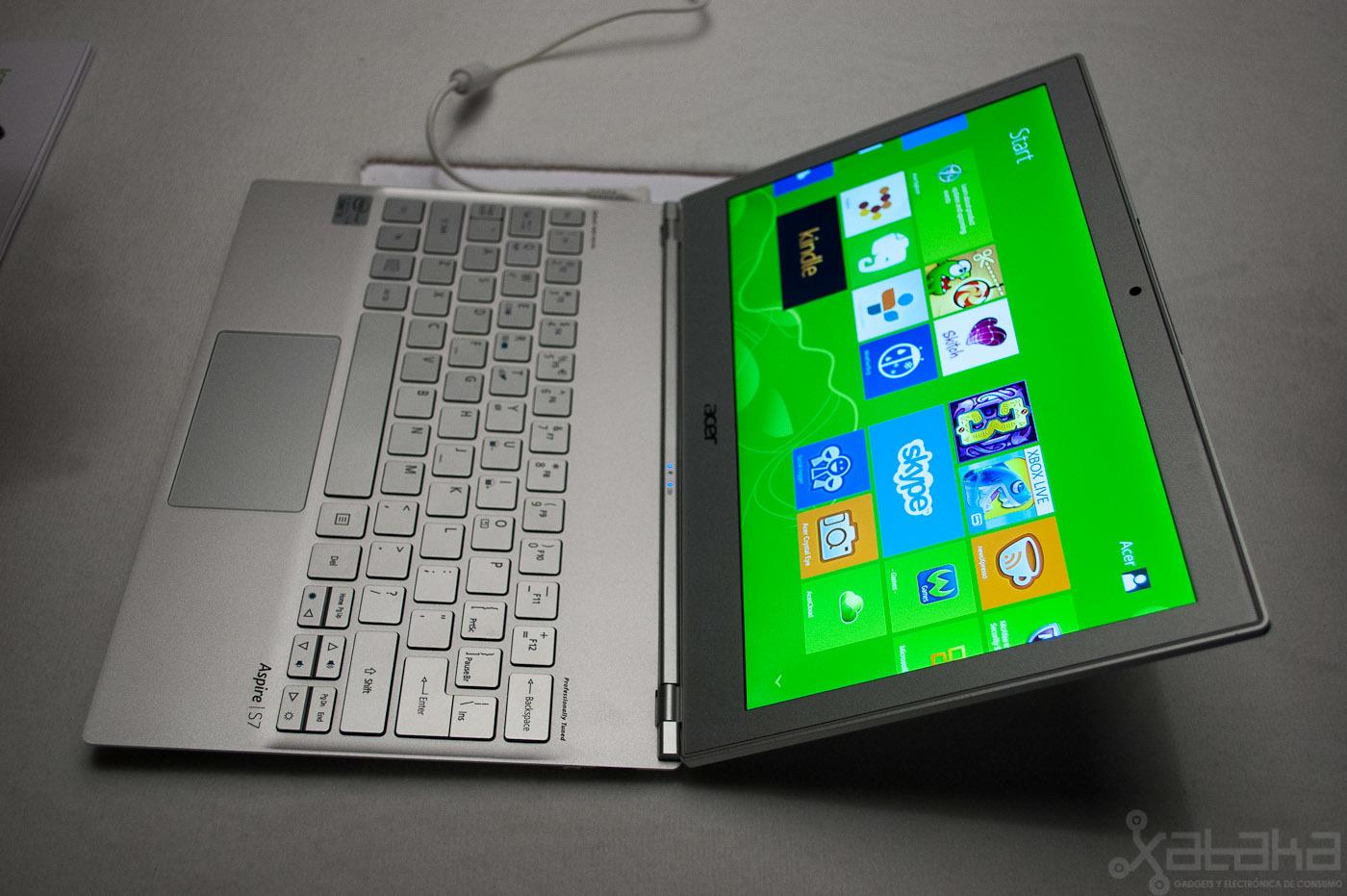 Foto de Acer Aspire S7, primeras impresiones (10/18)