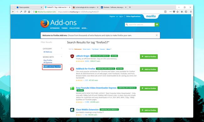 Es el mejor momento para usar Firefox... salvo que no puedas vivir sin tus extensiones