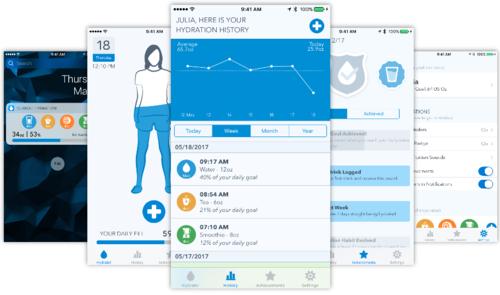 WaterMinder para iOS es la app que te anima a mantenerte hidratado cada día. App de la Semana