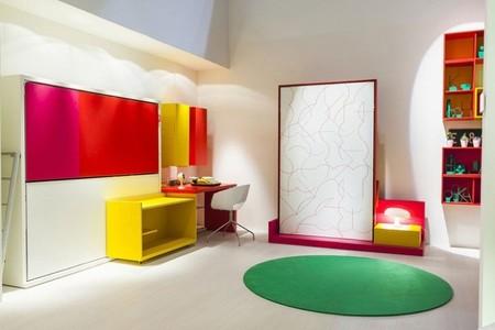 Ahorrando espacio sin renunciar al diseño y al color con los muebles multifunción de Clei