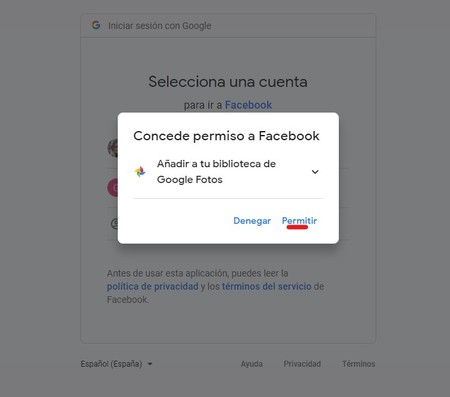 Aadir Fotos De Facebook A Google Fotos