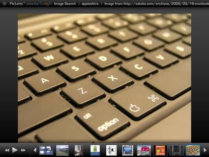 PicLens, visualiza a pantalla completa las imágenes en Safari