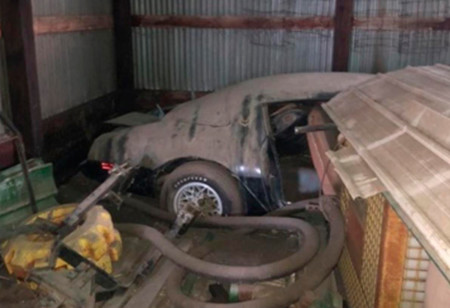 Encuentran en un granero el Pontiac Trans Am de The Hunter, la última película de Steve McQueen