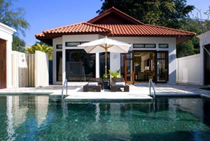 Villas con piscina privada en el Westin Langkawi Resort & Spa