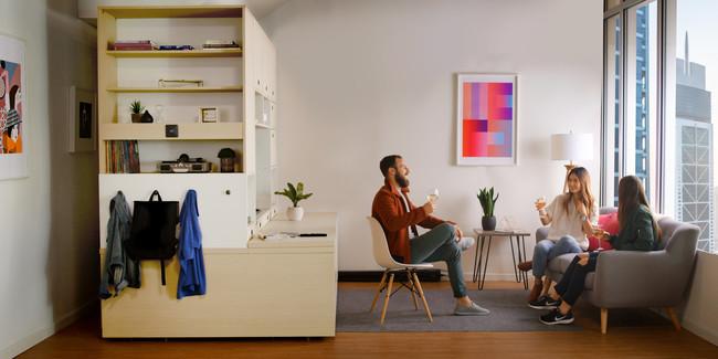 ¿Problemas de espacio en casa? Estos muebles robotizados quieren ayudarte a gestionar los espacios