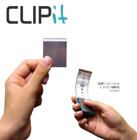 Nokia CLIPit, un concepto cargado de ideas