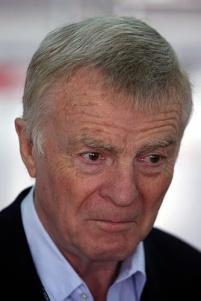 """Max Mosley """"sugiere"""" su destitución en una carta a la FIA"""