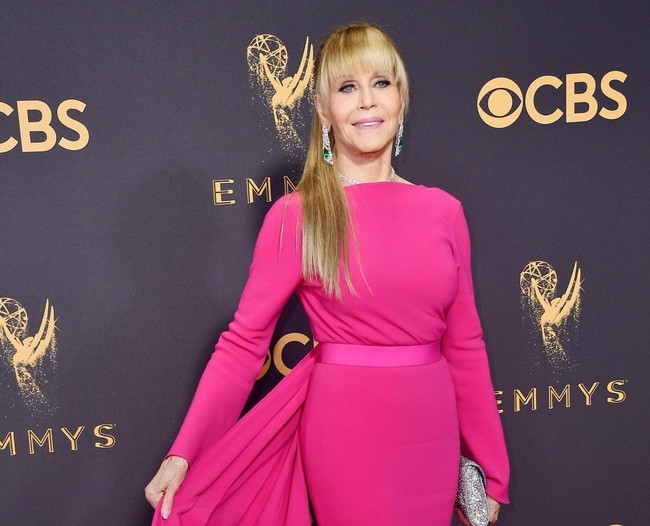 Jane Fonda Emmy 2017