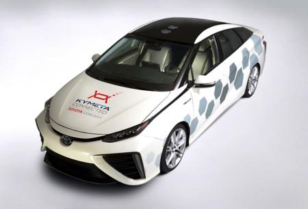 Toyota Mirai Comunicacion Satelite