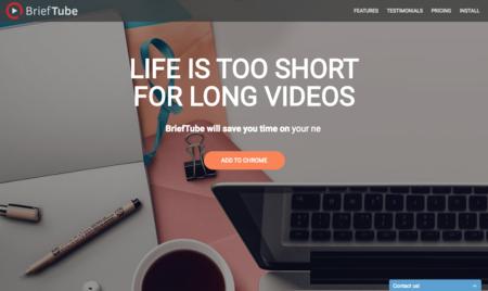 BriefTube o cómo crear una tabla de contenidos de los vídeos de YouTube