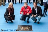 """Sexta estrella del Paseo de la Fama de Jerez para Jorge Martínez """"Aspar"""""""