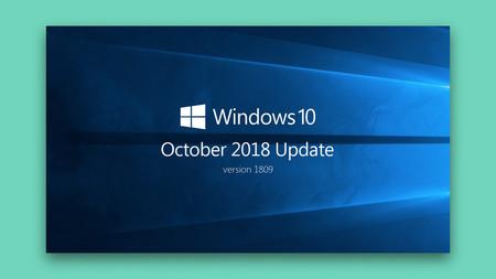 La Windows 10 October 2018 Update finalmente puede ser descargada por todos los usuarios