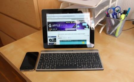 Teclado inalámbrico para iPad Cherry KW 6000. A fondo