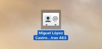 Exportar Contactos Mac 5