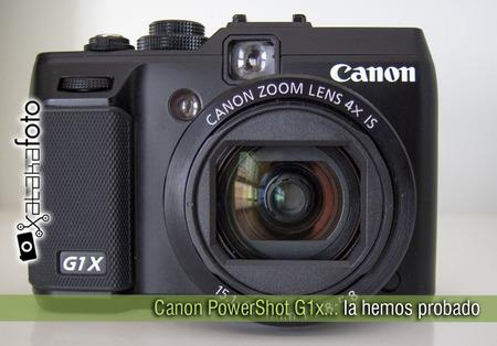 Canon PowerShot G1X: la hemos probado