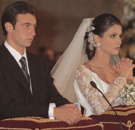 Enrique Ponce y Paloma Cuevas el día de su boda