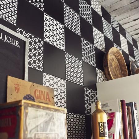 Cer micas y frisos 7 ideas para vestir tus paredes que te - Cuadros de leroy merlin ...