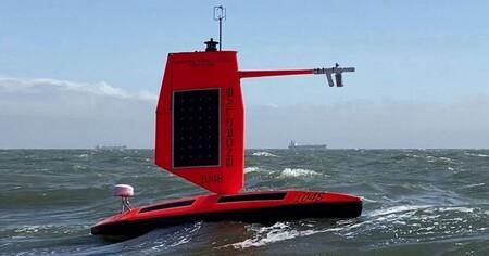 Por primera vez se graba un vídeo grabado por un saildron desde el interior de un gran huracán