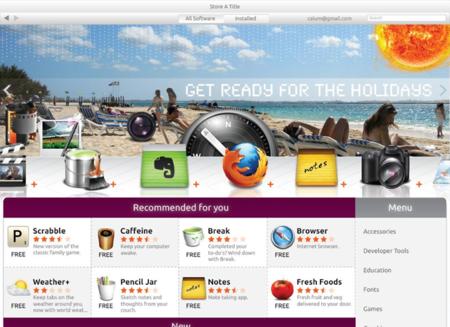 Así de vistoso podría ser el nuevo Centro de Software de Ubuntu