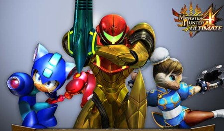 Metroid, Street Fighter, Mega Man y más en la actualización de Monster Hunter 4 Ultimate