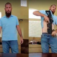 El vídeo que demuestra lo sencillo que es entrar en un bar con un rifle de asalto