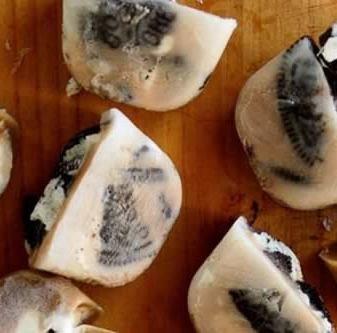 Cubos helados de Galletas Oreo