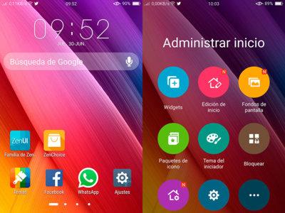 Así es ZenUI, el launcher de Asus para smartphones Android