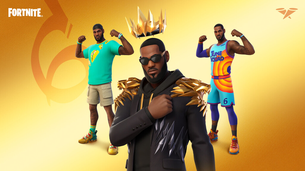 LeBron James abandonará esta semana la cancha de baloncesto para saltar al campo de batalla de Fortnite con su propia skin
