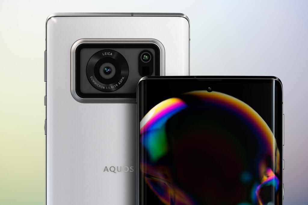 El Sharp Aquos R6 no solo tiene una pantalla de 240 Hz, sino que también monta una cámara con un enorme sensor de una pulgada