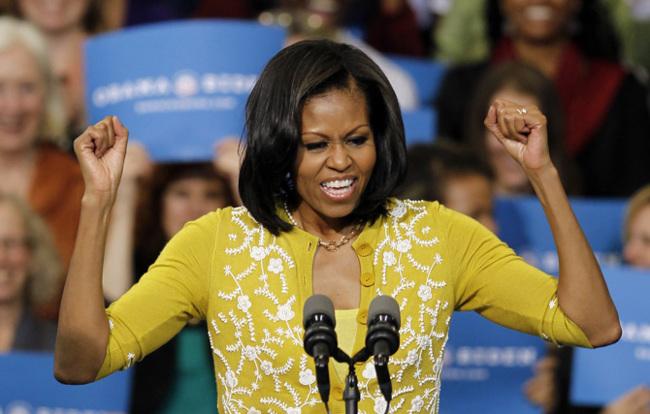 Michelle Obama manga