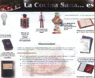 Una web de interés, La Cocina Sana