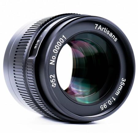 7artisans 35mm f0.95 para formato aps-c