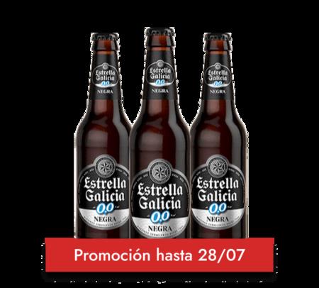 Estrella Galicia 00 Negra 25cl