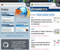 Firefox 14 para Android. A Fondo