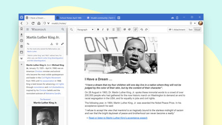 Vivaldi es cada vez más que un navegador: su última versión incluye un completo gestor de notas ideal para la productividad