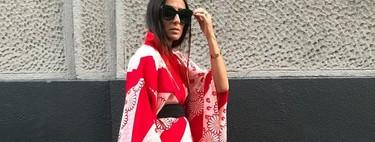 9 outfits con kimonos multicolor que prometen convertir nuestros looks de Otoño 2020 en los más originales de la temporada